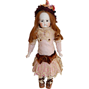 "CHARMING 14"" German Sonneberg Belton Bisque Doll"