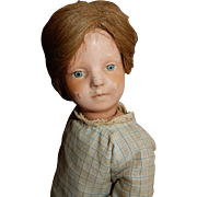 "SWEET and Well Loved c.1911 Schoenhut 300 series Wooden Doll 16"" Tall"