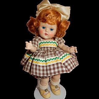 """CUTE 1953 Vogue Ginny """"Tina"""" All Original Doll"""