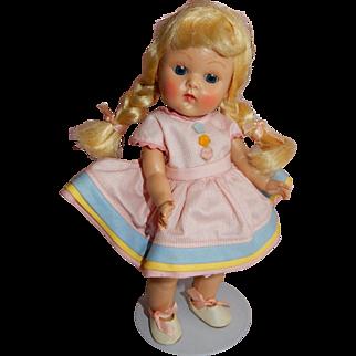 "SO CUTE 1952 Vogue Ginny doll ""Connie"" Compete and All Original"