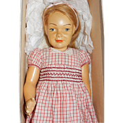 MAGNIFICENT: Rare 15: Dewees Cochran Child Doll Deborah in Her Original Box