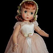 "DESIRABLE 14"" Madame Alexander Strung Rosamund Bridesmaid"