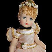 "WOW 17"" Mint Madame Alexander Hard Plastic Nina Ballerina"