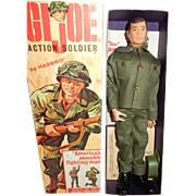 MIB 1960's Hasbro GI Joe Action Soldier