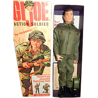MIB 1964 Hasbro GI Joe Action Soldier