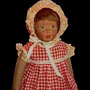 "SWEET and Charming 19"" Kamkins Doll c.1919"
