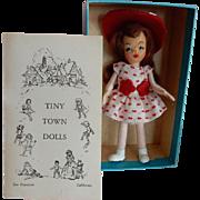 """CUTE 1940's MIB Tiny Town Doll Series 1 """"Ann"""""""