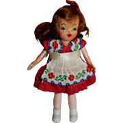 """SWEET Mint in Box Tiny Town Doll """"Mary"""""""