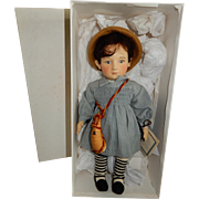 "DESIRABLE R. John Wright Nursery Rhyme Series. ""Little Boy Blue"" - Red Tag Sale Item"