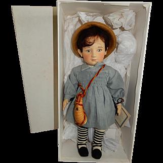 "DESIRABLE R. John Wright Nursery Rhyme Series. ""Little Boy Blue"""