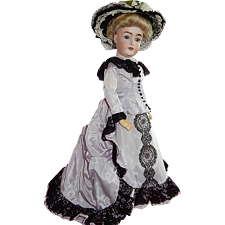 """STUNNING and Rare 19"""" Kestner 162 Lady...A Grand and Outstanding Doll"""