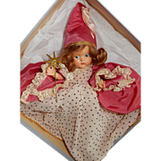 DELIGHTFUL Early Vogue Painted Eye Ginny Fairy Godmather Doll with box c.1949