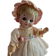 """The CUTEST and Sweet 7""""  Tall A.M. German Bisque Googly Doll Mold 323"""