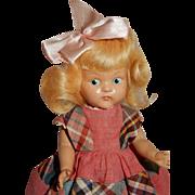 PRETTY All Original 1949 Painted Eye Vogue Ginny Doll