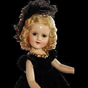 "LOVELY 18"" 1930's  Madame Alexander Sonja Henie Doll"