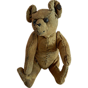 """SO OLD and Well Loved Very Early Steiff 5"""" Teddy Bear"""