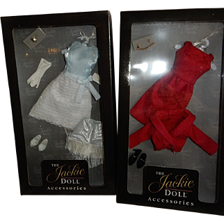 Two Lovely and Complete Boxed Outfits for the Franklin Mint Jackie Doll