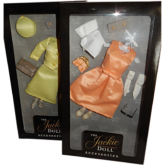 Two Pretty and Complete Boxed Outfits for the Franklin Mint Jackie Doll