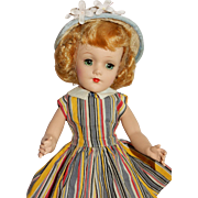 """SWEET and Charming 14"""" Hard Plastic Original Mary Hoyer Doll"""