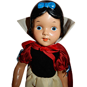 SWEET Early 1938 Compo Snow White Doll