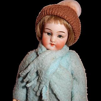 "CUTE  All Original 7"" Simon Halbig Mold 1078 Flapper Doll"