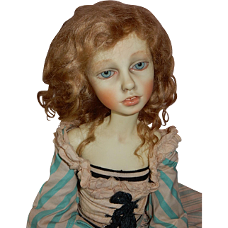 """MAJESTIC and Magnificent 23"""" Early Connie Lowe One of a Kind BJD Design"""