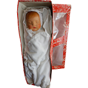 """20"""" German sleeping character """"Traumerchen"""" by Kathe Kruse, original costume and box"""