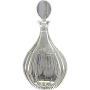 Antique 19th Century Elegant Maastricht Crystal Spirit Decanter Purchased at Tiffany