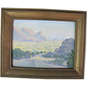 Scenic California Original Oil Painting by Charles Westly Nicholson 1886-1965
