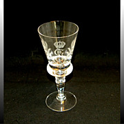 King Gustav III Crystal Stemware Red Wine Glass