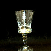 King Gustav III Crystal Stemware Waterglasses, 8 Pieces