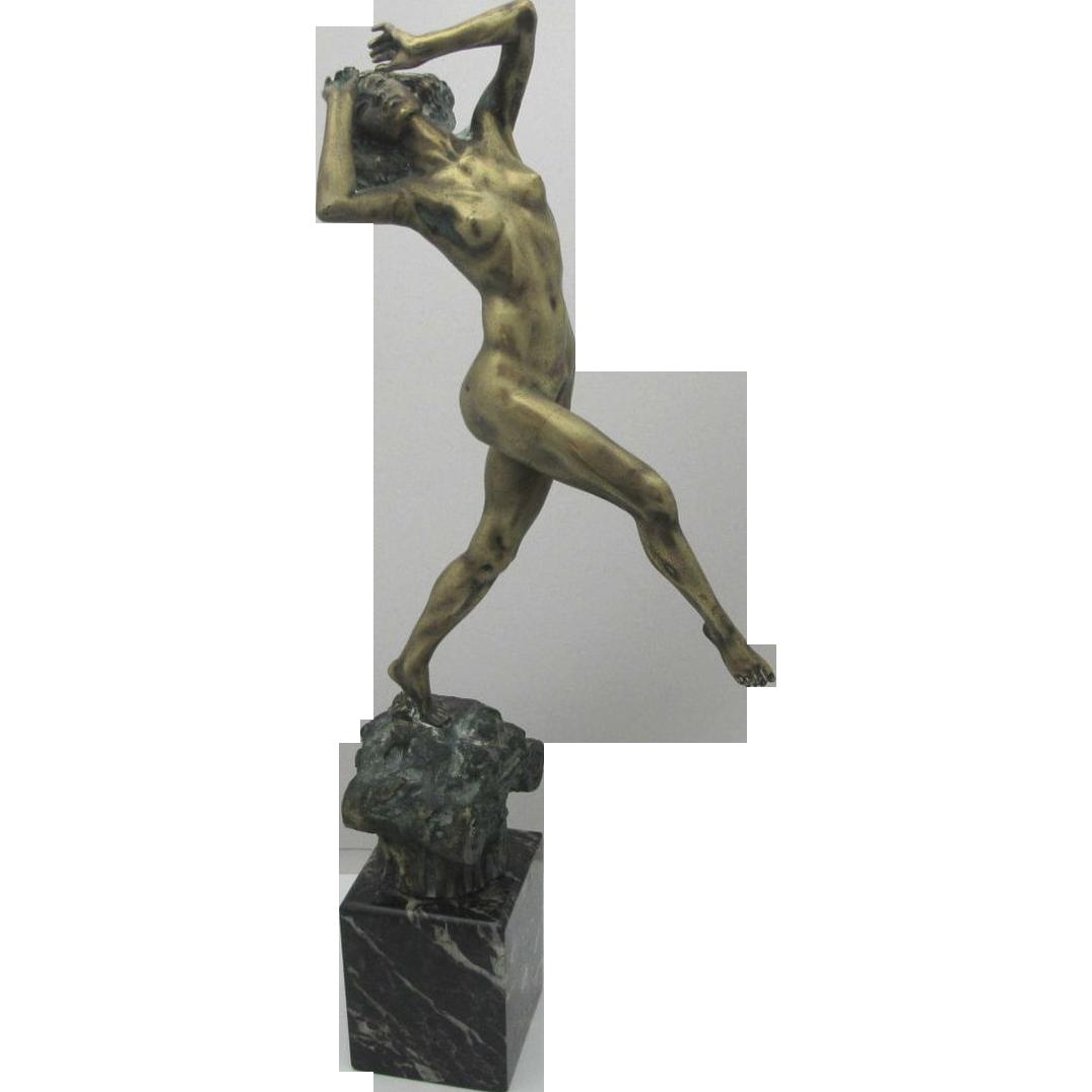 art-deco-bronze-nude-attire-patterned