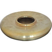 BRONZE Japanese Round Minimalist Modern Censer Pot SIGNED