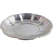 Sterling Silver Gorham 43312 Scalloped Oval Candy Dish Nut Bowl