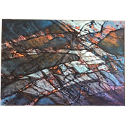 Pacific NW CARL MORRIS (1911-1993) Huge Modern Art ABSTRACT Modern Oil Painting