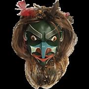 Stunning PACIFIC NW Oregon COAST Tribal Art Mask Brita Gould & Dennis Gould