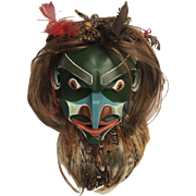 Stunning PACIFIC NW Oregon COAST Tribal Art Mask Brita Gould & Dennis Gould