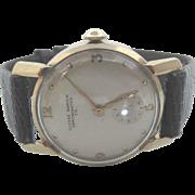 Rare Vintage ULYSSE NARDIN 14k Yellow Gold Mechanical Chronometer Men's Watch