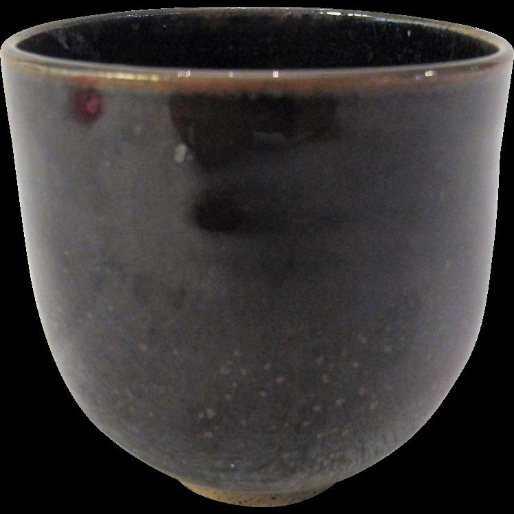 Laura Andreson Studio Pottery Tea Bowl Cup California Mid