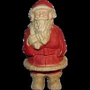 Vintage Paper Mache Santa Claus Candy container decoration