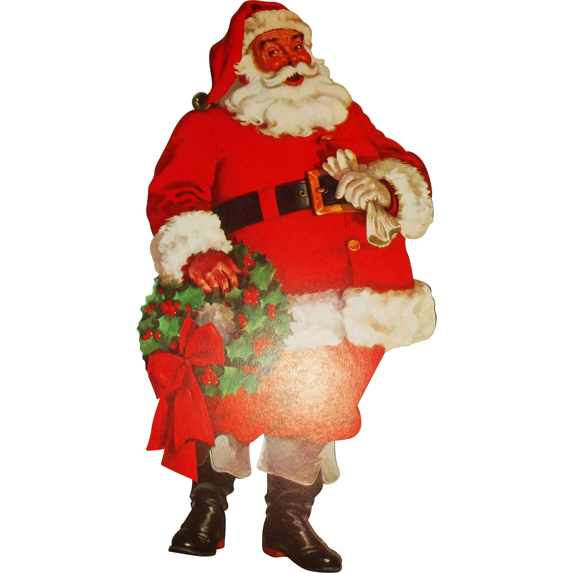 wallpaperup santa claus decor tree wallpaper christmas snow decorations