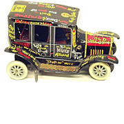 "MARX Lithographed Tin ""Old Jalopy"" Toy Automobile"