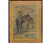 "Vintage Children's game ""Picture Lotto"" - USA 19th Century Beautiful"