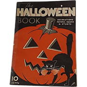 Dennison's The Halloween Book party magazine 1933 Halloween with Mickey Mouse issue!