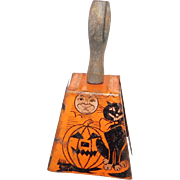 Halloween decoration – Tin lithographed Bell USA 1920s