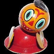 Vintage Jack-O-Lantern pumpkin figure Halloween decoration