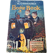 1925 Annual Halloween edition Dennison's Bogie Book Halloween collectible