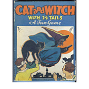 Halloween Cat & Witch Party Game – Pin the tail on the Cat!