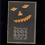 1922 Annual Edition Dennison's Bogie Book Halloween collectable excellent