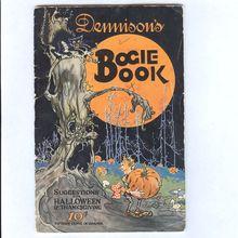 12th Annual Halloween Edition Dennison Bogie Book 1924